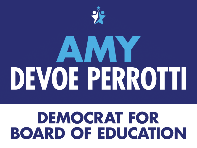 Amy Devoe Perrotti Democrat for Board of Education