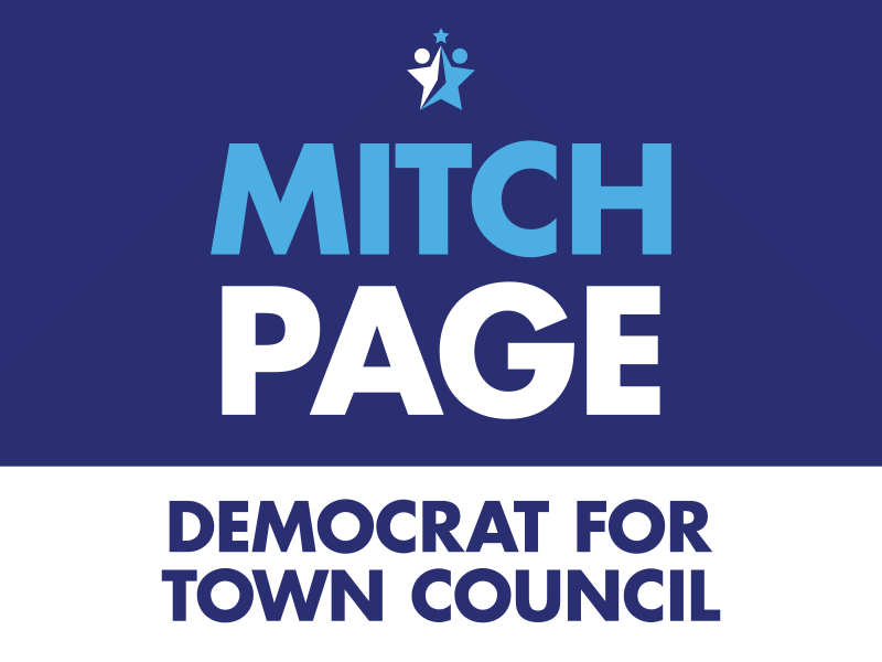 Mitch Page Democrat for Town Council