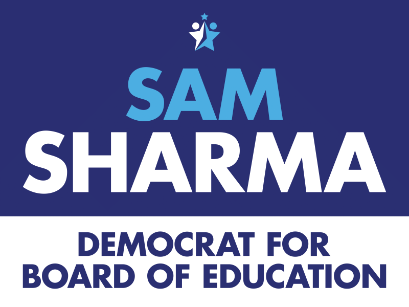 Sam Sharma Democrat for Board of Education